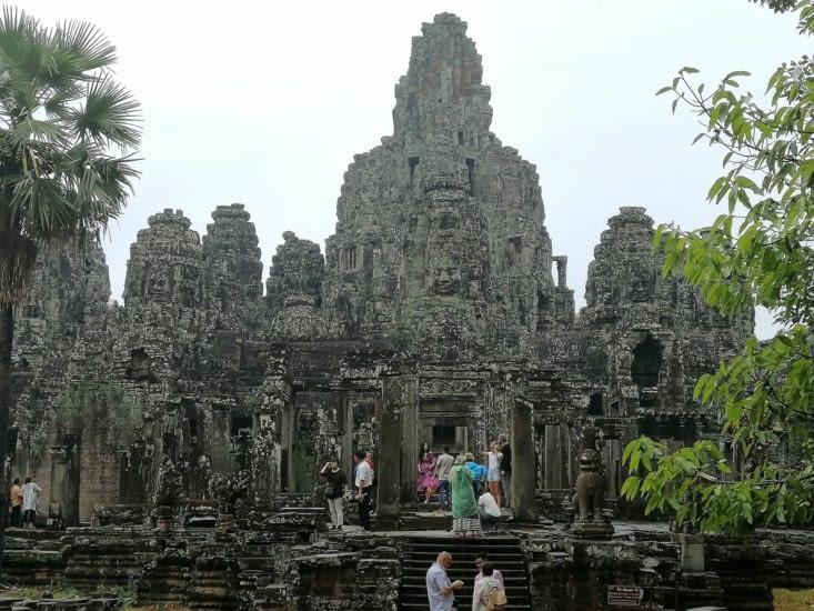 Le temple Bayon.