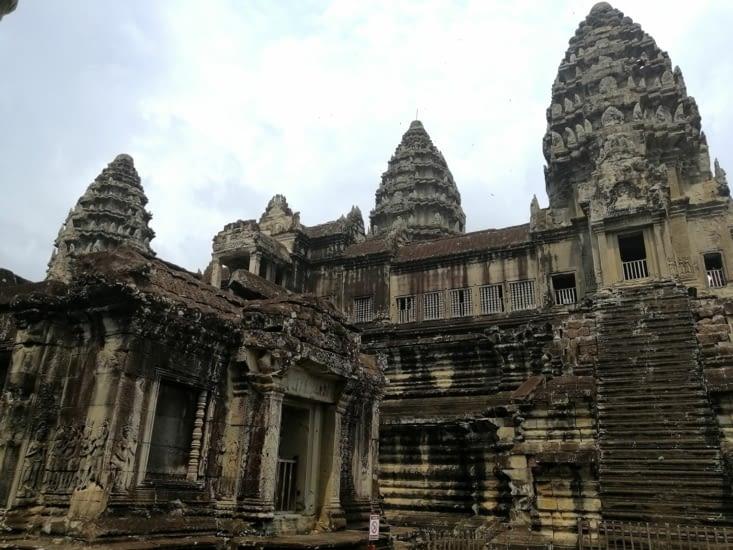 Les tours Khmers.