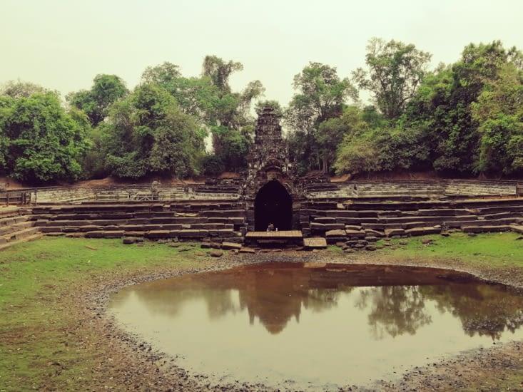 Neak Péan, le temple au milieu du lac.