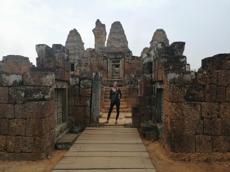 Pré Rup, dernier temple de la journée.