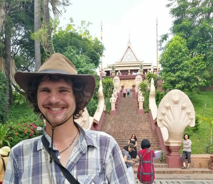 Le Wat Phnom.