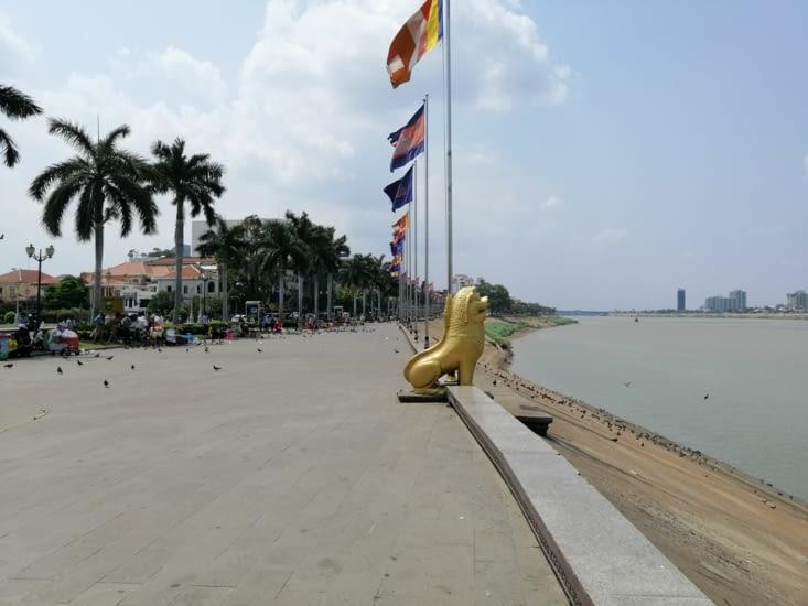 Les bords du Mekong, une fois de plus.