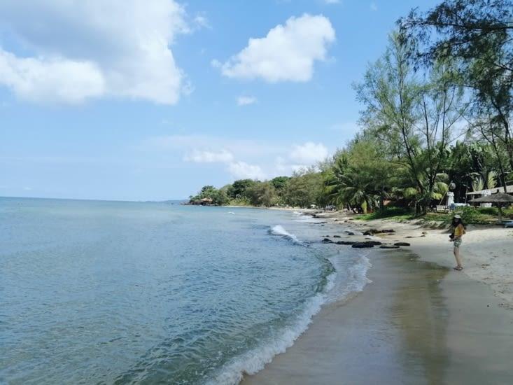 La plage d'Ong Lang