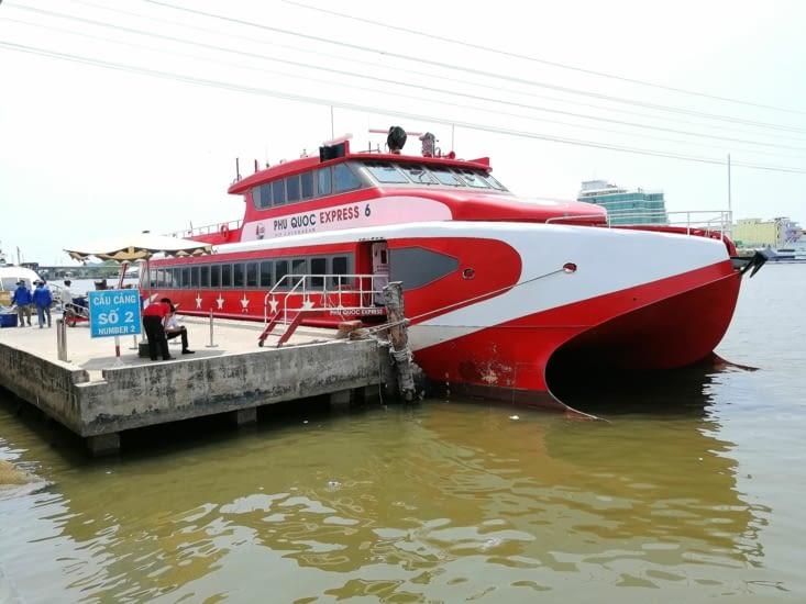 Le ferry pour Phu Quoc