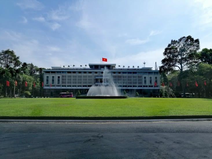 Le palais de la réunification.