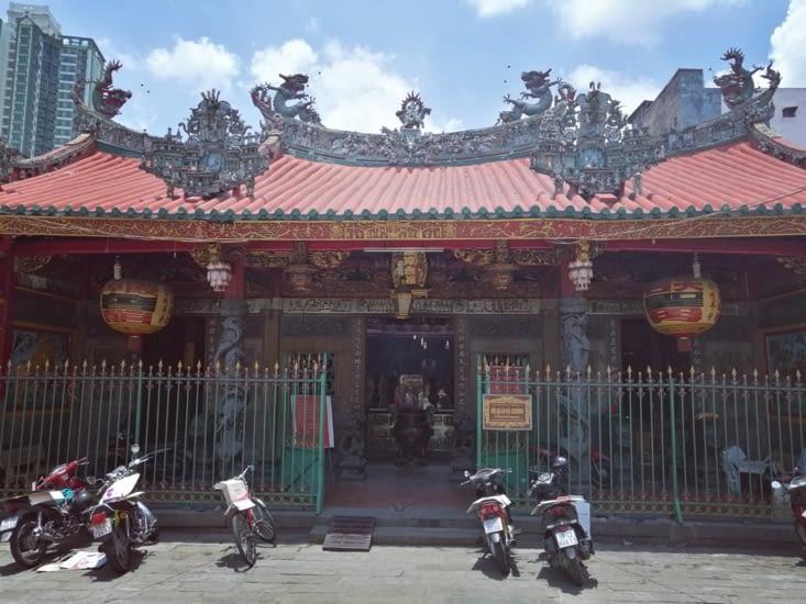 Le temple Thien Hau.