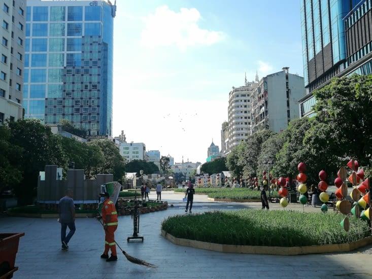 Nguyen Hue, les Champs Elysées de Saïgon.