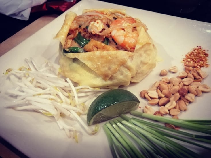 Pad Thaï à la manière Saïgonnaise.