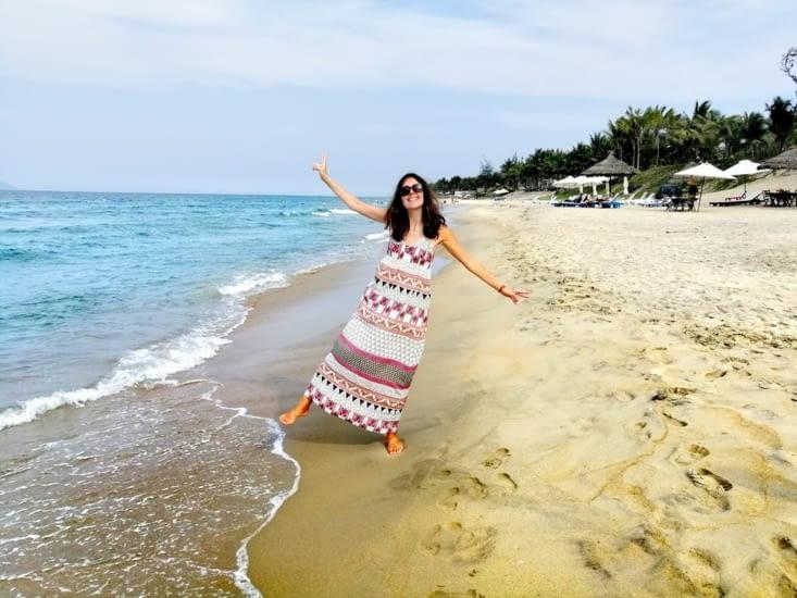 Un après-midi sur la plage.