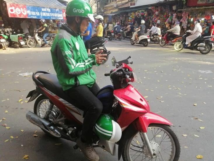 Grab moto.