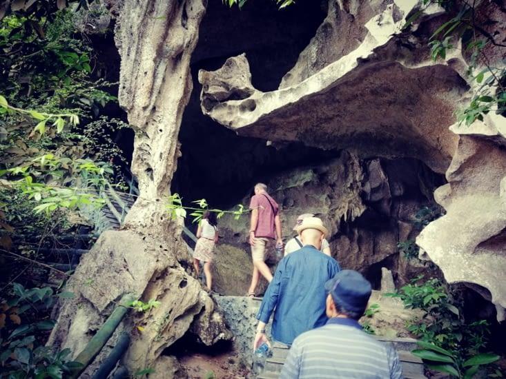 La grotte de Trung Trang.