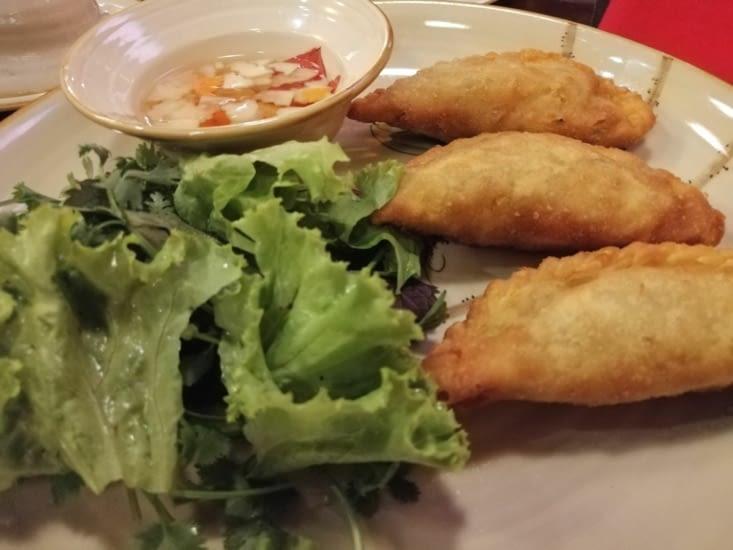 Dumplings vietnamiens au Viet garden