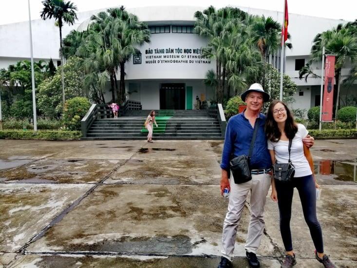 Le musée ethnologique.