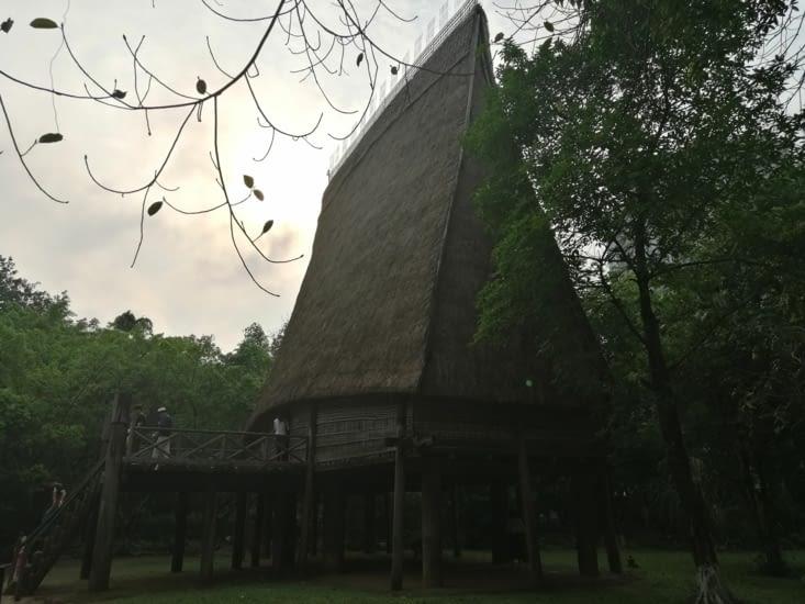 Maison tribale.