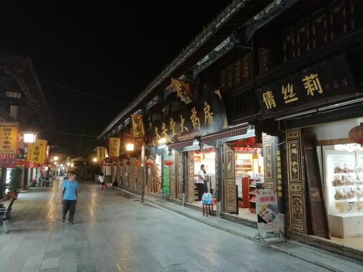 Jianshui by night