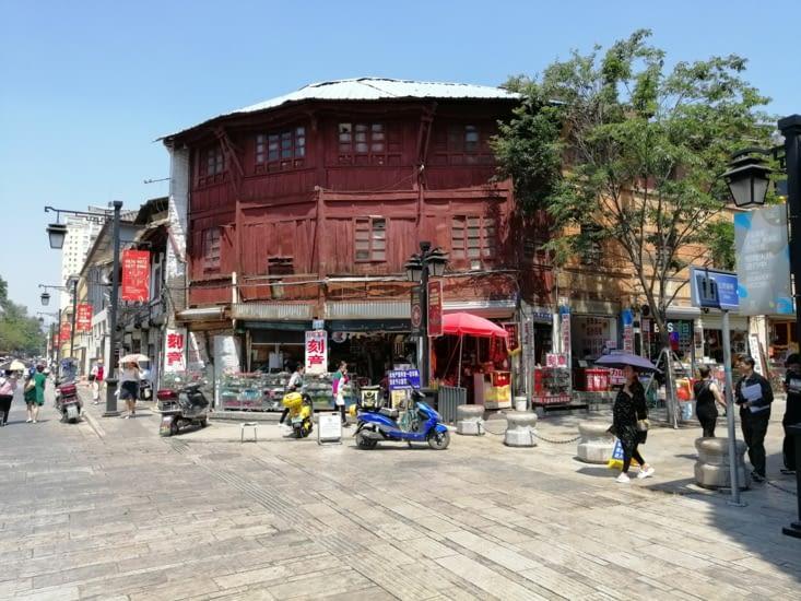 Entrée dans le vieux Kunming.