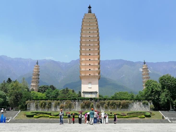 Le trois pagodes
