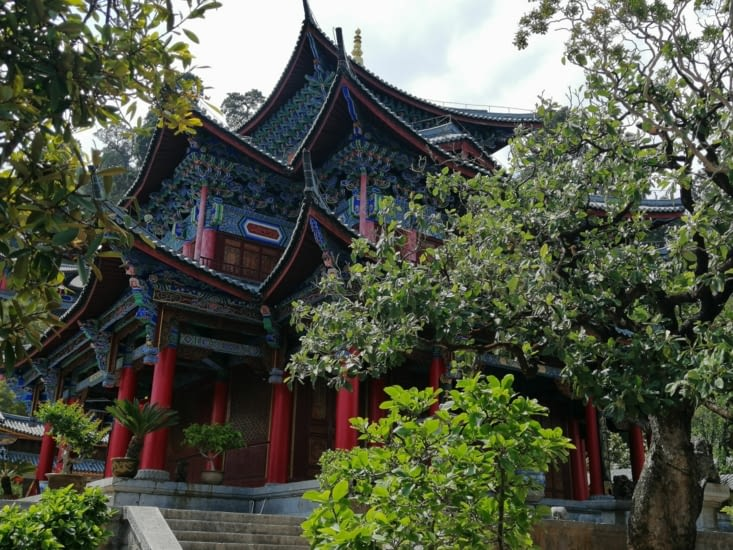 Le pavillon du jardin de jade.
