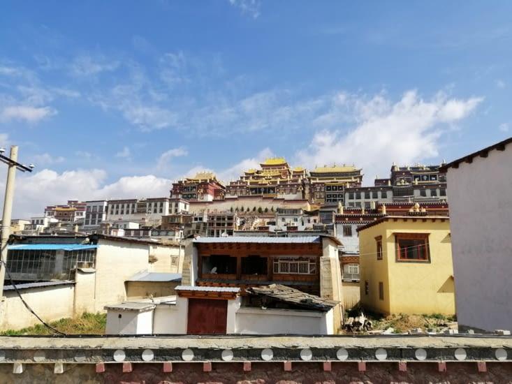 Le monastère Songzanlin.