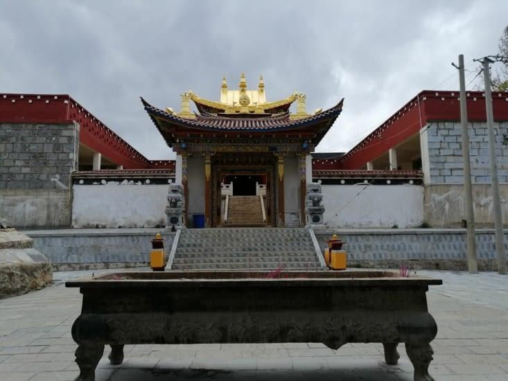 Le temple Baiji.