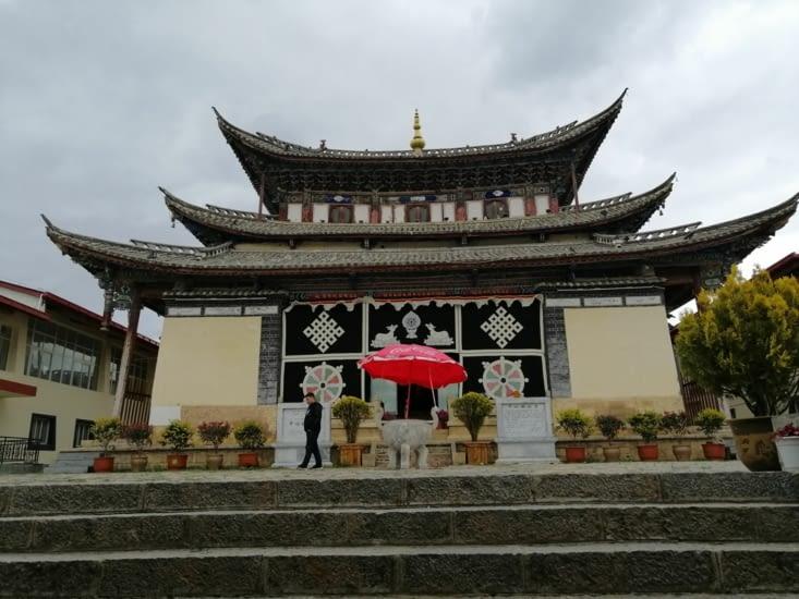 Le temple du musée de la longue marche.