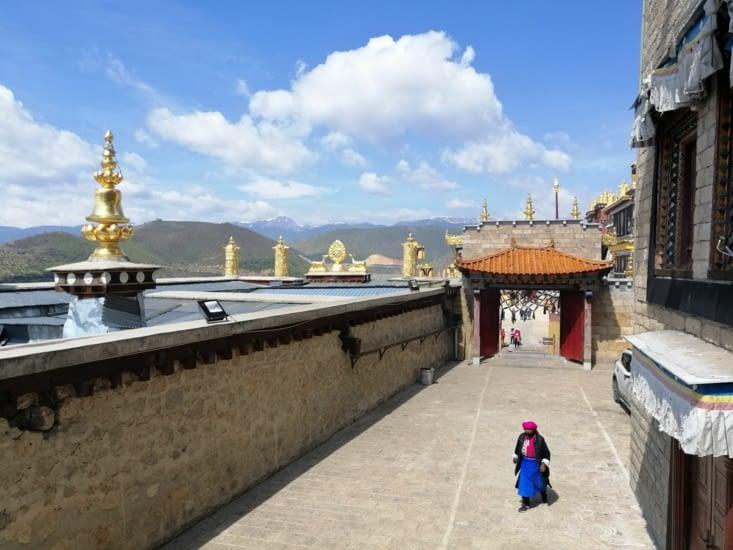 Vue sur l'Himalaya.