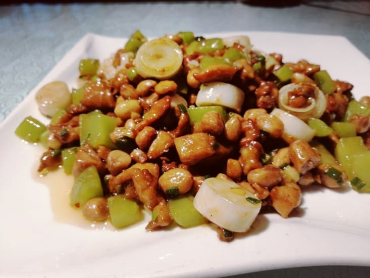 Poulet à la Sichuanaise.