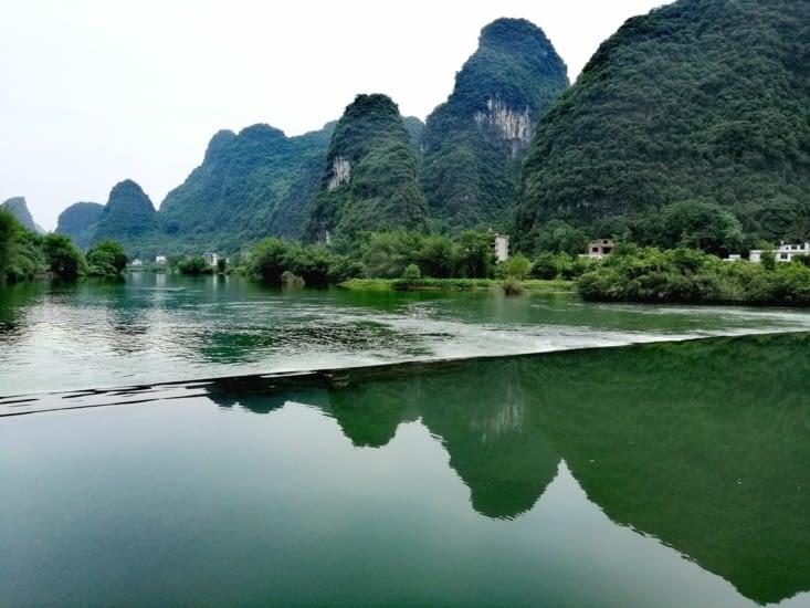 La rivière Yulong.