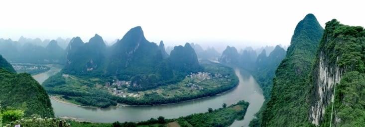 Xianggong, point de vue féerique.