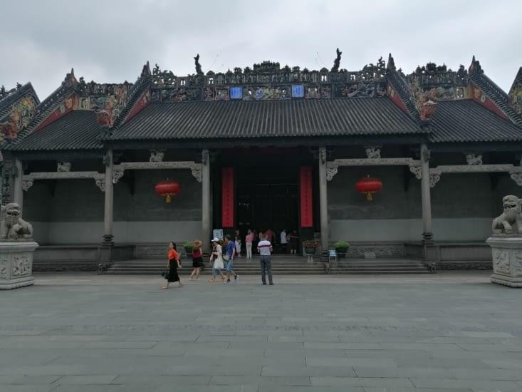 Le temple des ancêtres du clan Chen