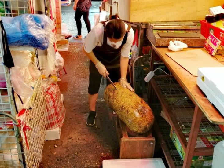Durian de concours.