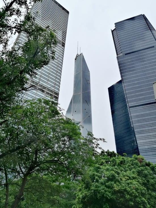 La tour de la banque of China