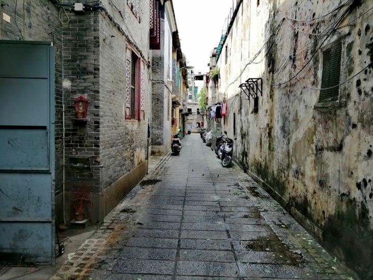 Les ruelles de la vieille ville.