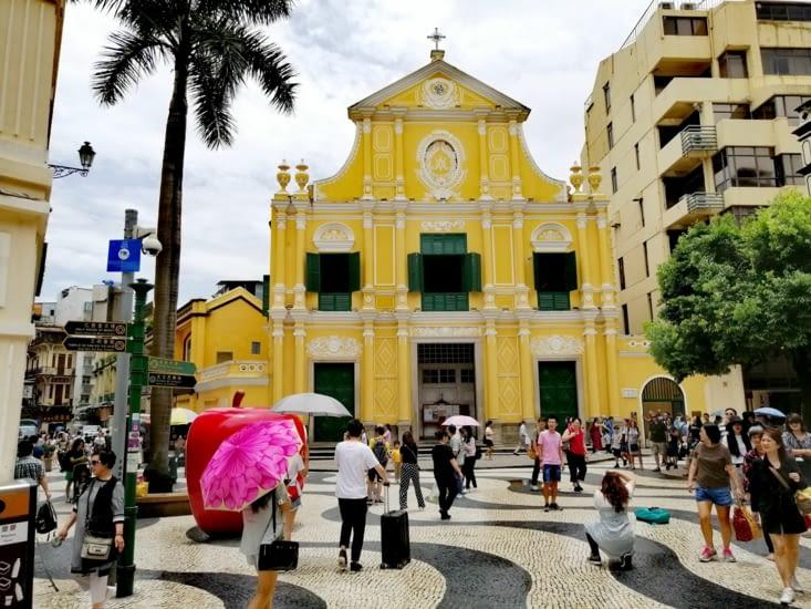 L'église Sao Domingos.