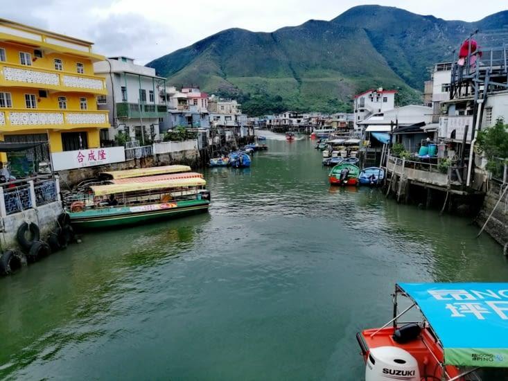 Le village de pêcheurs de Taï O.
