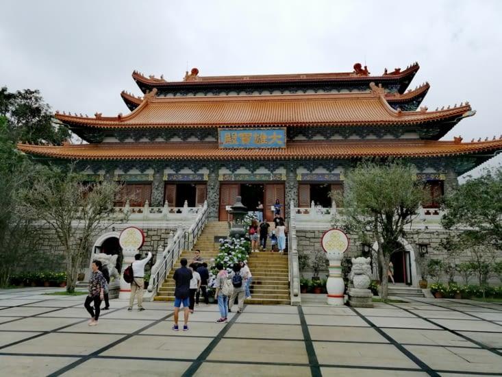 L'entrée du monastère.