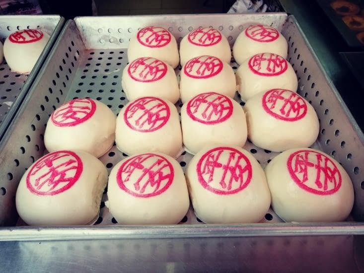 Les pains tatoués, spécialité de l'île.