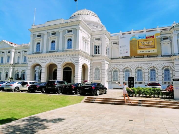 Le musée d'histoire de Singapour.