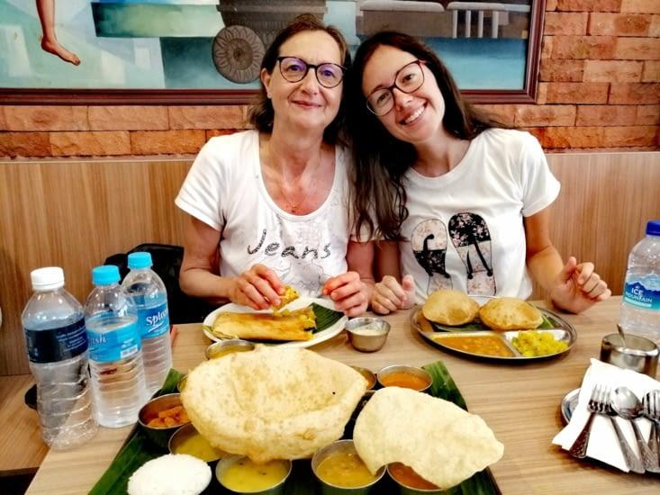 Saveurs indiennes au restaurant Madras New Woodland.