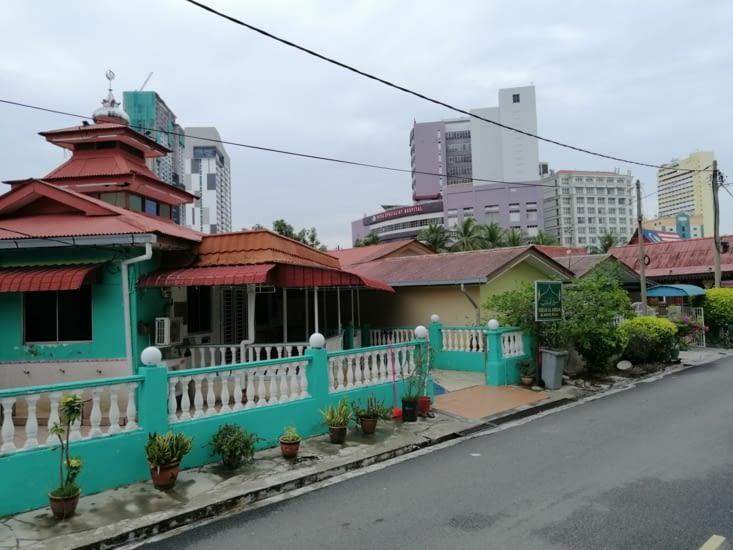 Les villas traditionnelles.
