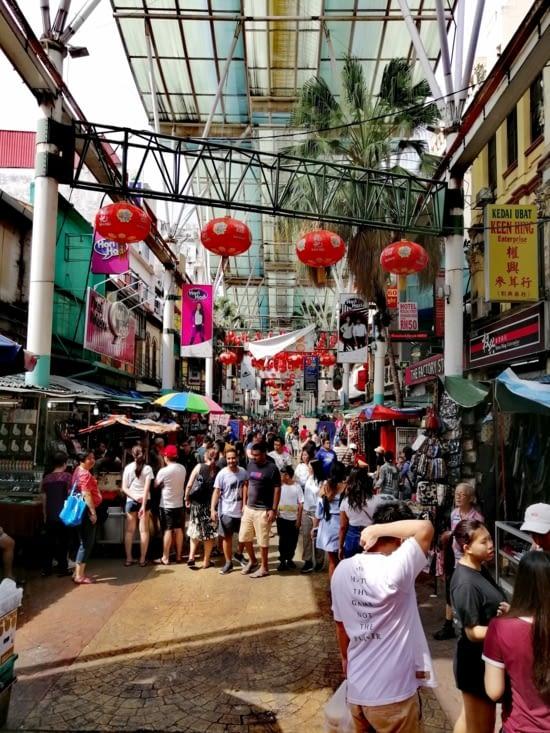 Le quartier chinois.