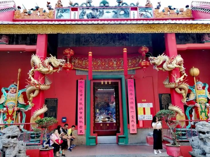 Le temple chinois Guan Di.
