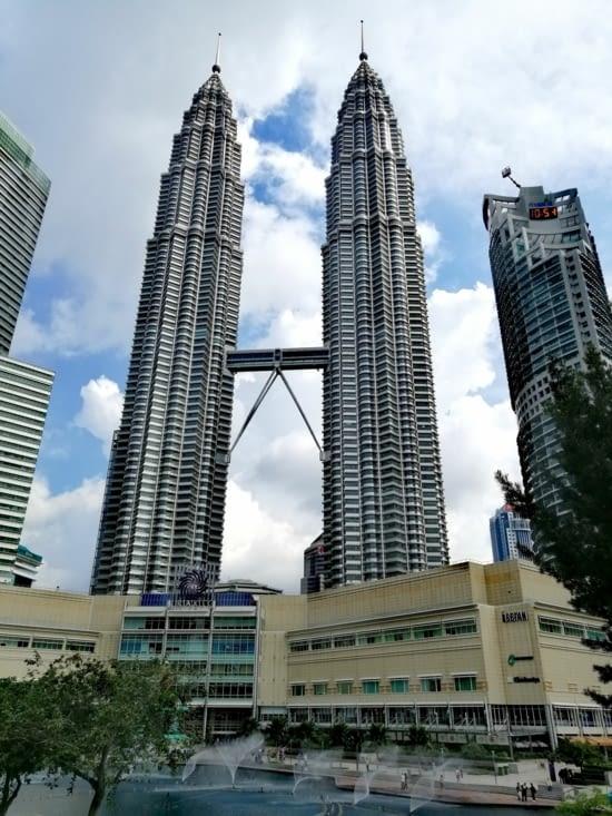 Les tours jumelles Petronas.
