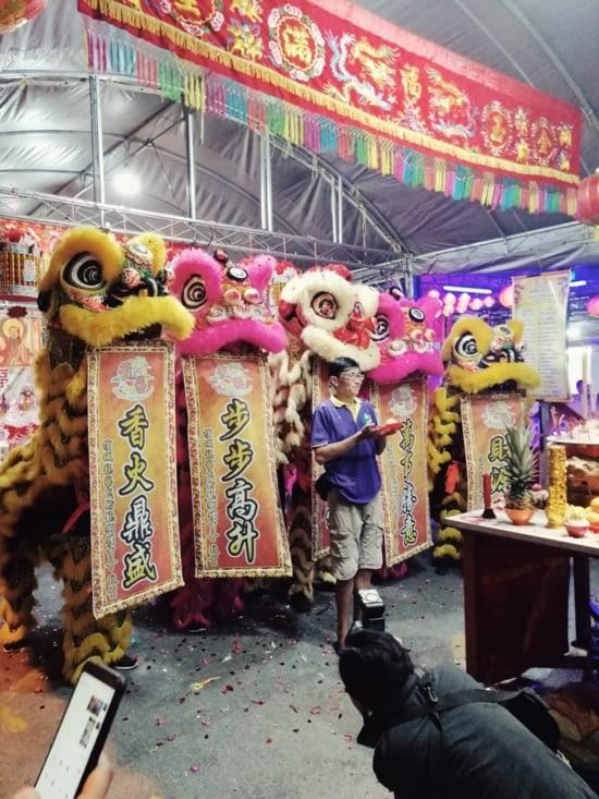 Fête patronale chinoise.