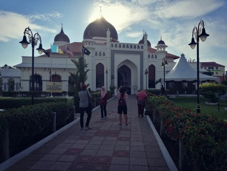 La mosquée Kapitan Keiling.