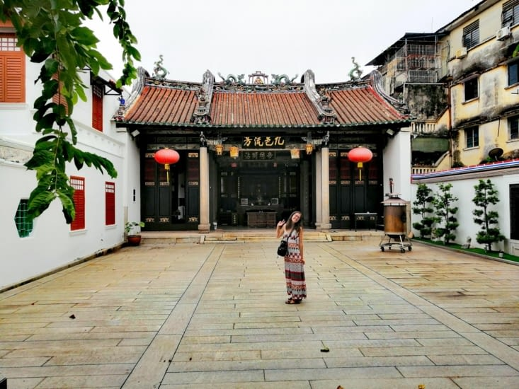 Temple chinois.