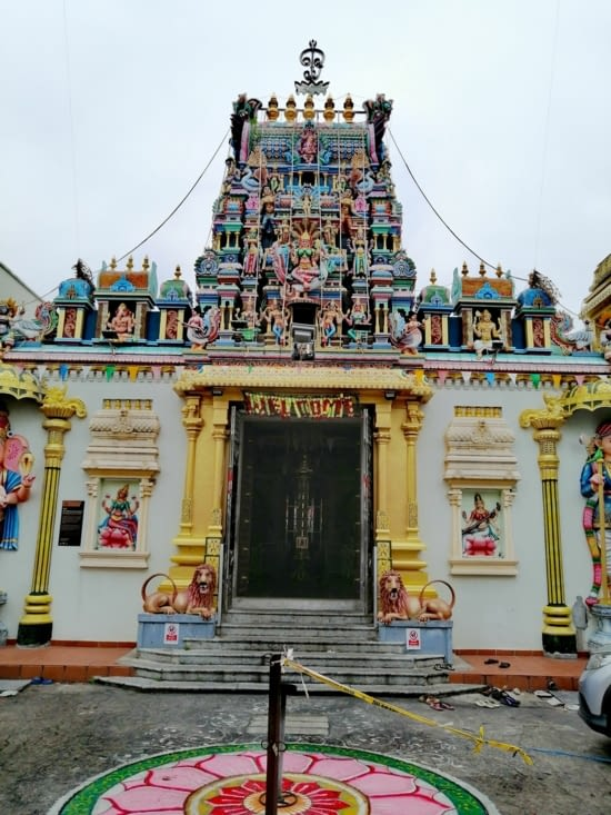 Temple indien.
