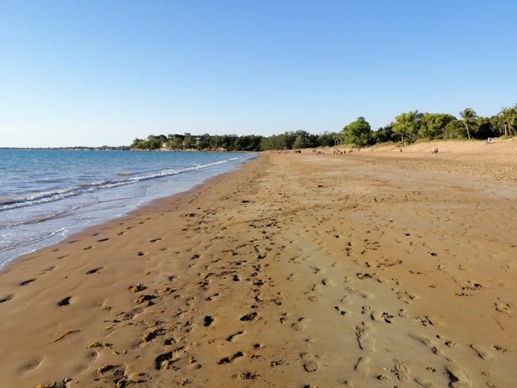 La belle plage de Mindil beach