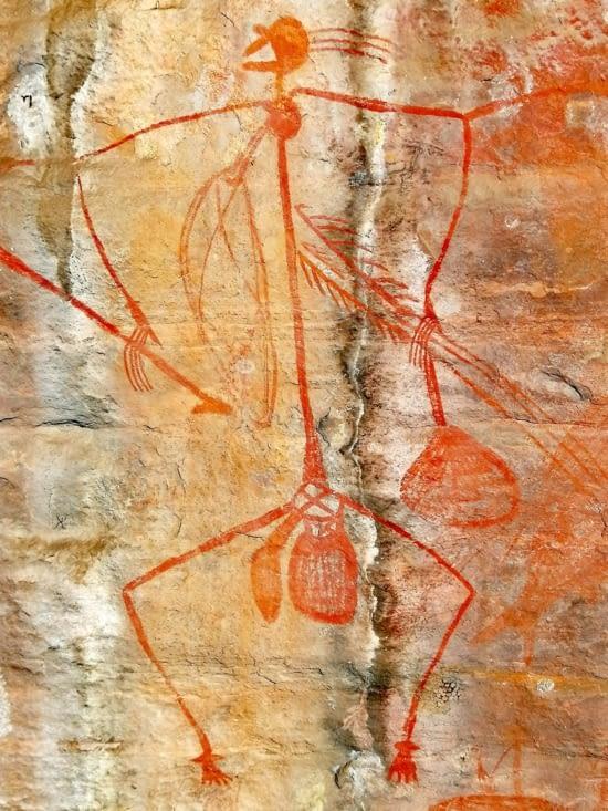 Street art préhistorique.