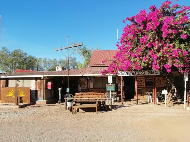 Daily water's pub, le plus vieux pub du Northern Territory